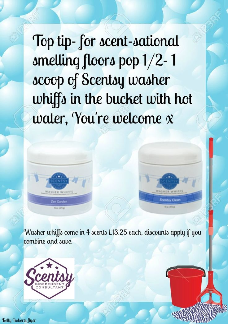 Best Scentsy tip EVER! To buy washer whiffs check out my website