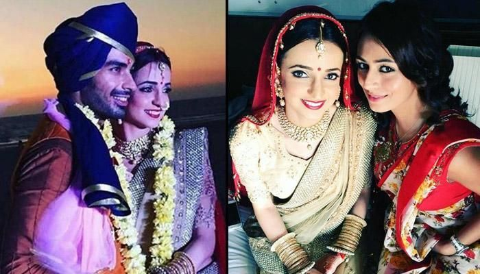 Television's sweethearts Sanaya Irani and Mohit Sehgal got married in a destination wedding at Goa on January 25, 2016. Have a look at their complete wedding album here.