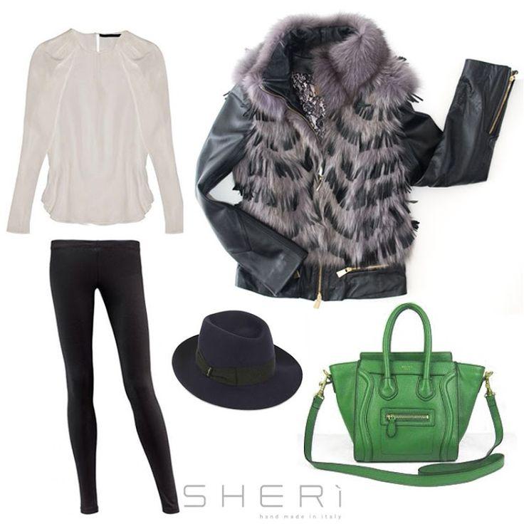 Quest'ultimo venerdì di gennaio indossate ciò che volete senza rinunciare allo #stile del #MadeinItaly. www.sheri.it #SHERì #fur #fashion #handmade #outfit