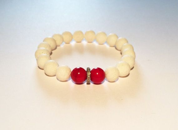 Men bracelet, RED, BLUE and DIAMOND bracelet for him. Red and blue men bracelet with diamond, Coral, lapis and diamond bracelet