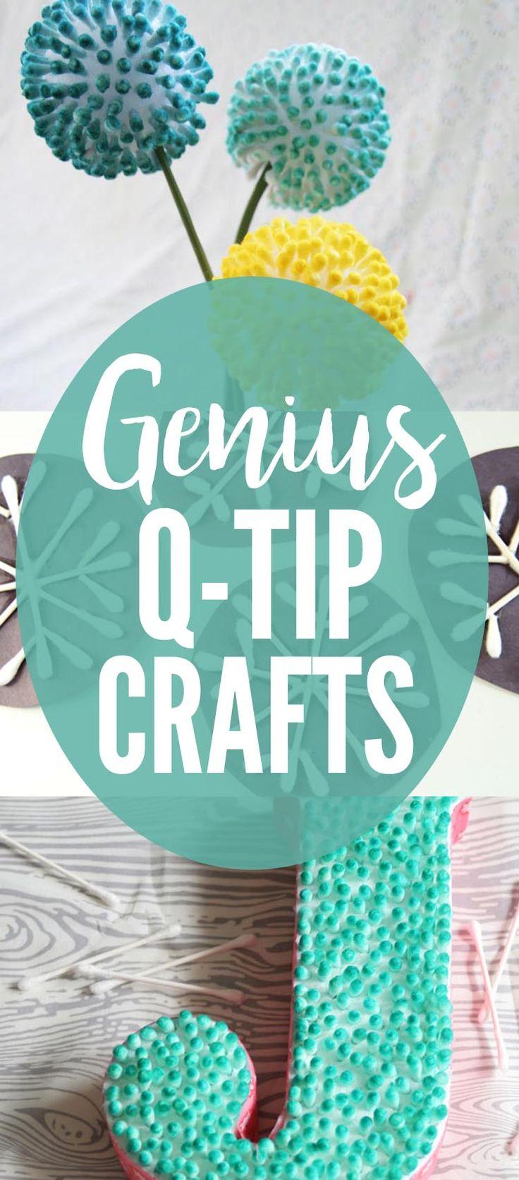 Genius Q-tip Crafts for Kids