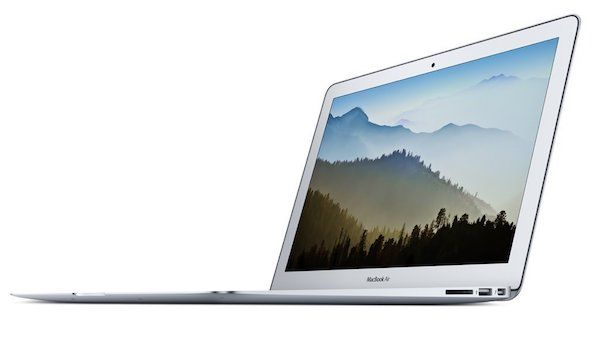 Foto Apple MacBook Air - Ordenador portátil de 13 pulgadas (Intel Core i5, 8 GB RAM, 128 GB, macOS Sierra), color gris - Teclado QWERTY español.