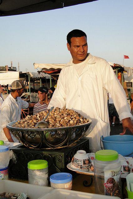 Snails for Sale - Djermaa el-Fna (Central Square) - Medina (Old City) - Marrakesh, Morocco by Adam Jones, Ph.D. - Global Photo Archive, via Flickr