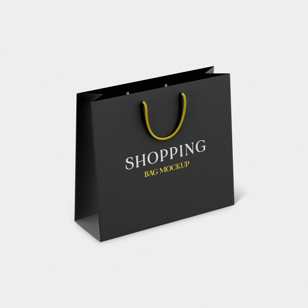 Download Shopping Paper Bag Psd Mockup Bag Mockup Mockup Mockup Psd