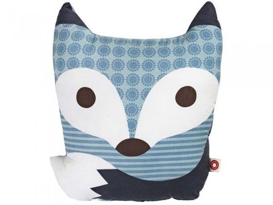 Slate Rufus Fox Cushion