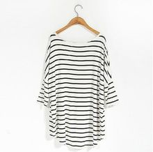 OEM service simple stripe printed jersey fashion women  Best Seller follow this link http://shopingayo.space