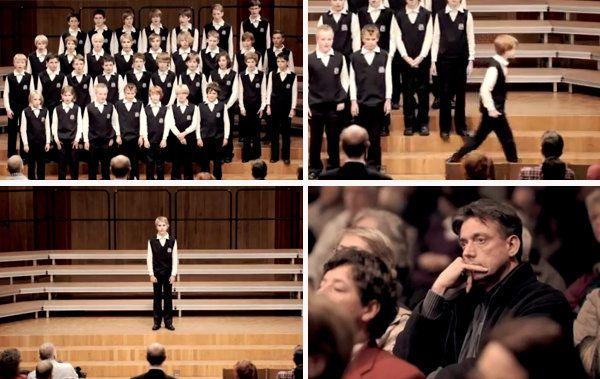 El coro que dejó helado al público - Dando Guerrilla