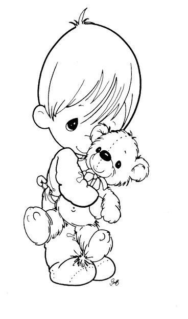 precious moments baby coloring pages opvang