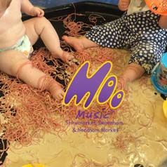 Spaghetti, and coffee gloup! Wet messy sensory play which is tastible but probably not the nicest thing to eat!