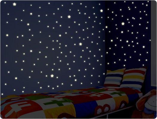 sternenhimmel für kinderzimmer am abbild und aeeadcb