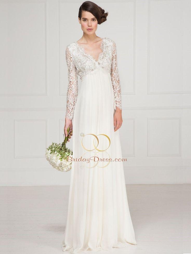 MWL-Vintage-Lacquer-Lace-Empire-Line-Gown Designer Like Matthew Williamson Wedding Dress Vintage-Lacquer-Lace-Empire-Line-Gown BridayDress.com - Best Price Wedding Dress Shop