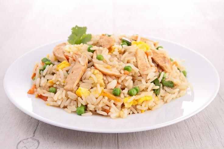 Stekt ris-og kyllingrett som er like god som den du bestiller på restaurant. Ingredienser 0,5 dl basmatiris 150 g kyllingfilet [...]Les mer