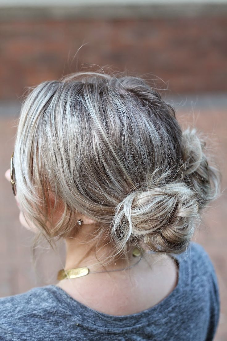ANDREA CLARE: HAIRSIRATION: BOHO DOUBLE BUN UP-DO  ∇• • ∇• • ∇• •