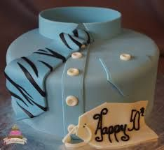 Image result for 60th male birthday cakes with a tie