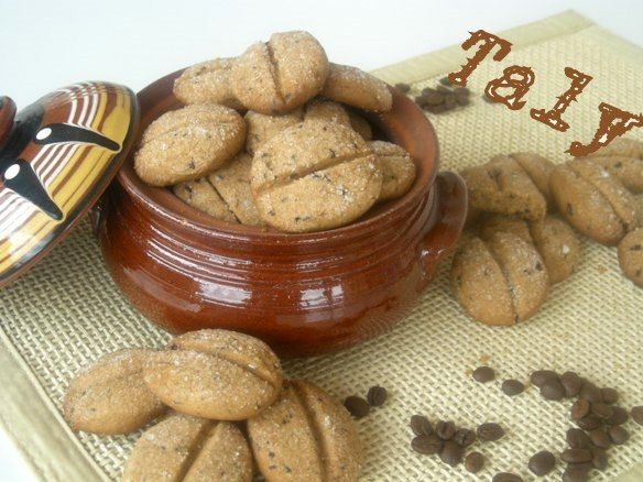CHICCHI DI CAFFE'-#frollini al #caffè