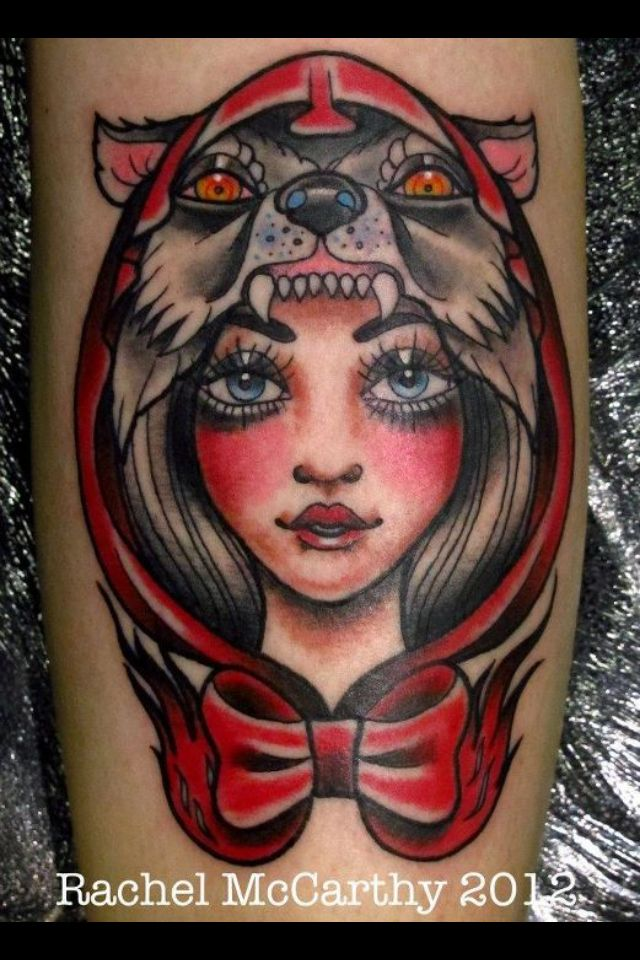 535 best american traditional tattoos images on pinterest for Red wolf tattoo