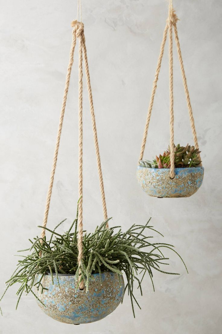 Slide View: 1: Reactive Hanging Planter