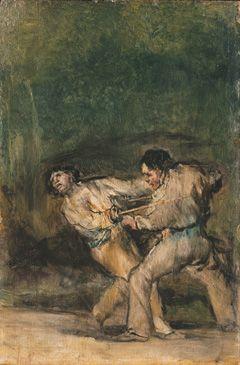 36. Il duello - 1820-24 - Monaco, Alte Pinakothek