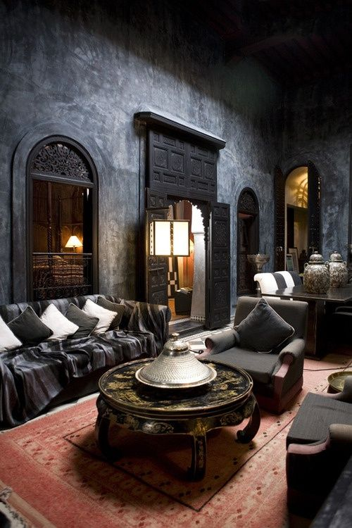 Relaxing Moroccan living room  ♥ amberlair.com #Boutiquehotel #travel #hotel
