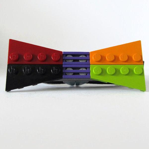 Πολύχρωμο Παπιγιόν από τουβλάκια LEGO®