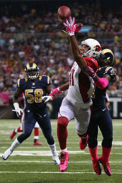 Larry Fitzgerald - Arizona Cardinals v St Louis Rams