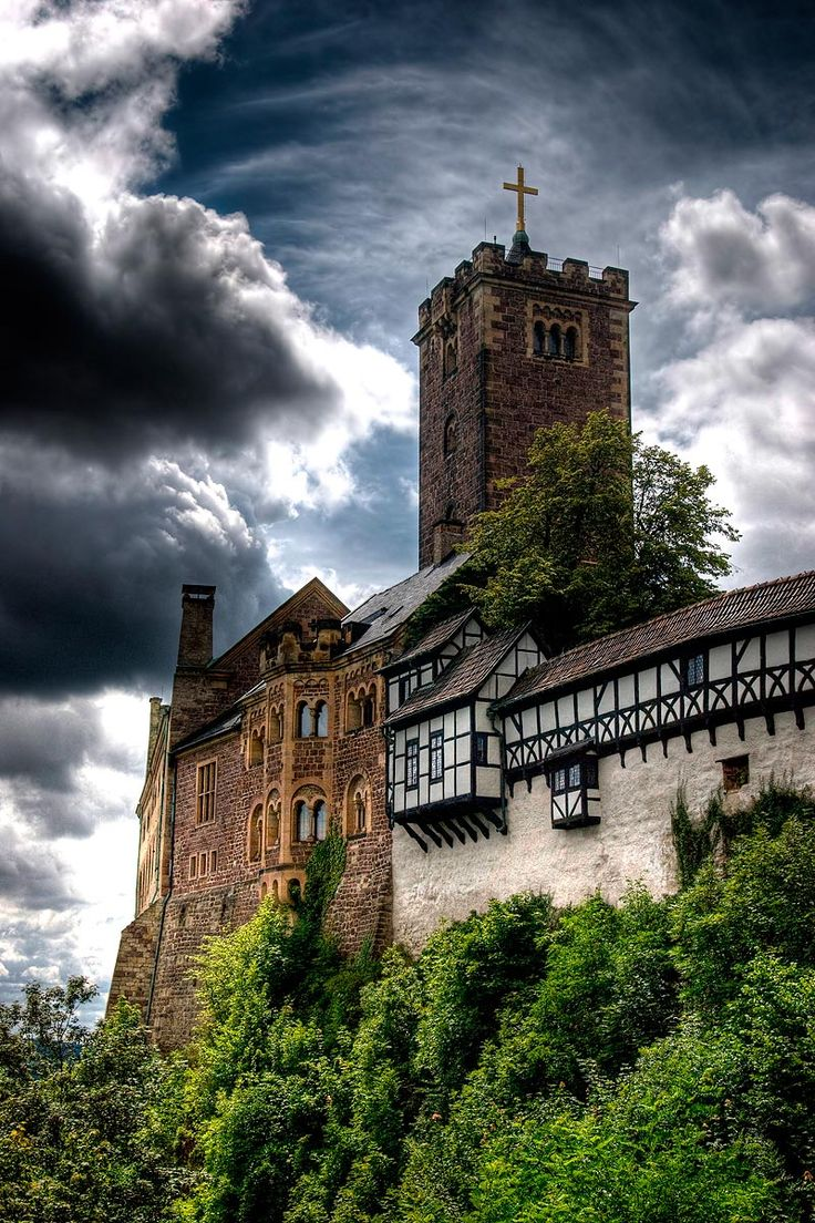 Wartburg Castle in Germany... Our family history has ties to this castle through the Springers..