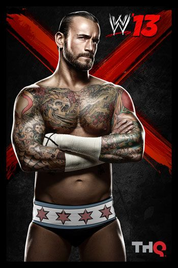 CM Punk - I've always liked the fact that he's straight edge. you don't see that with many famous people these days!