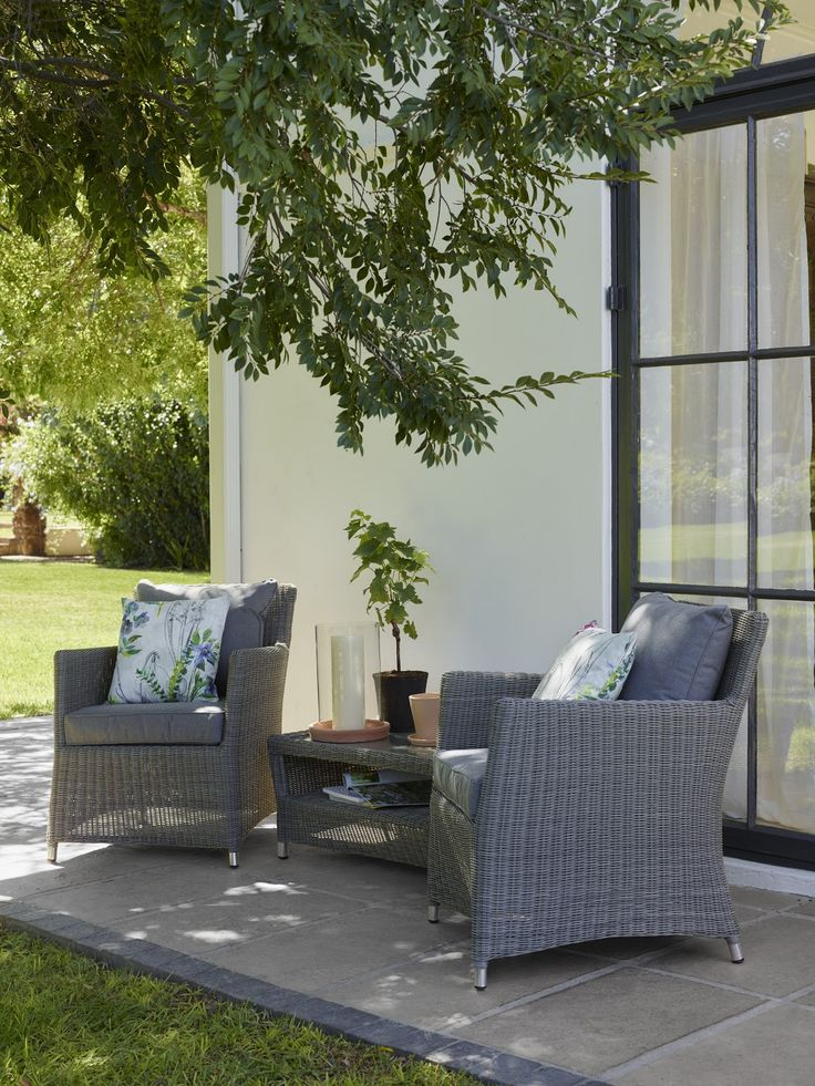 Perfect for those long and warm summer evenings, our Dante outdoor lounging range creates an atmosphere of calm and relaxation with it's curvature design and soft colours. Perfect for either the conservatory or garden, you can sit and gaze at the outdoors for hours in these stylish woven chairs.