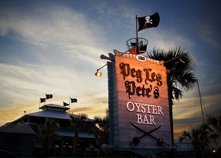 Peg Leg Pete's on Pensacola Beach..did I mention the grouper nuggets