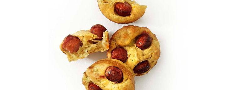 Potet- og pølsemuffins