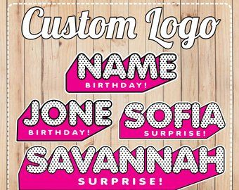 Lol surprise | Etsy | LOL Surprise Doll Party | Custom logos