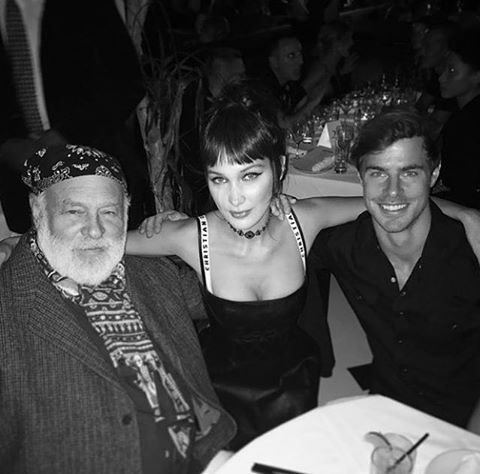 Bella Hadid, Bruce Weber e Jules Horn