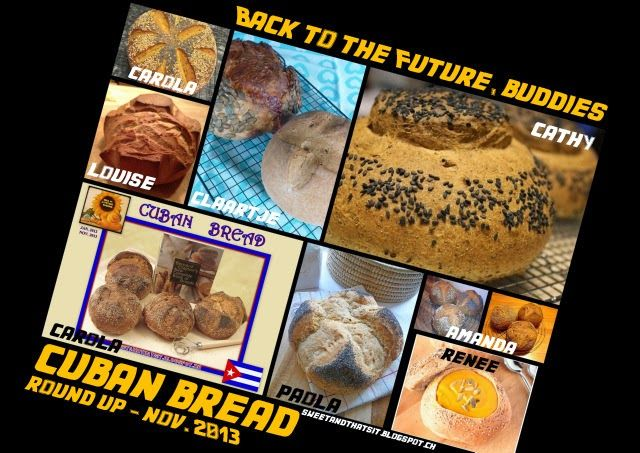 "Sweet and That's it: ""Back to the Future, Buddies"" CUBAN BREAD"": November 2013 Round Up - PANE CUBANO: Raccolta di Novembre 2013"
