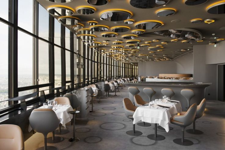 Ciel de Paris Restaurant by Noé Duchaufour Lawrance | HomeDSGN, a daily source for inspiration and fresh ideas on interior design and home decoration.