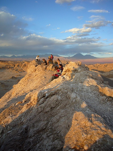 Desierto de Atacama. Valle de la Luna