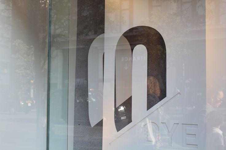 Adidas window display letter M- Oxford Street