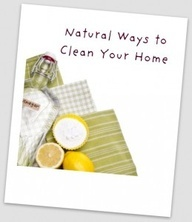 Natural Ways to Clean your Home. #cleaning