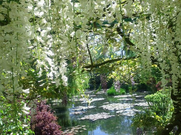 Jardins de Claude Monet em Giverny, França.