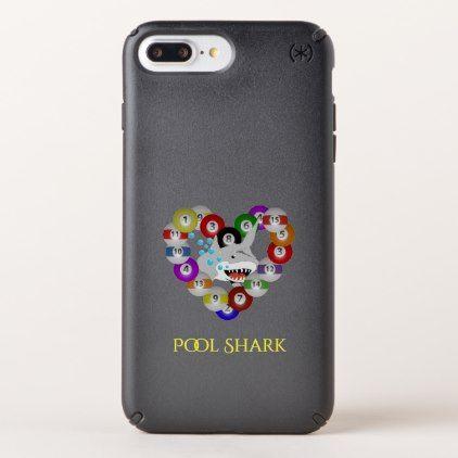 Heart of Billiards Pool Shark Love Speck iPhone Case - individual customized designs custom gift ideas diy