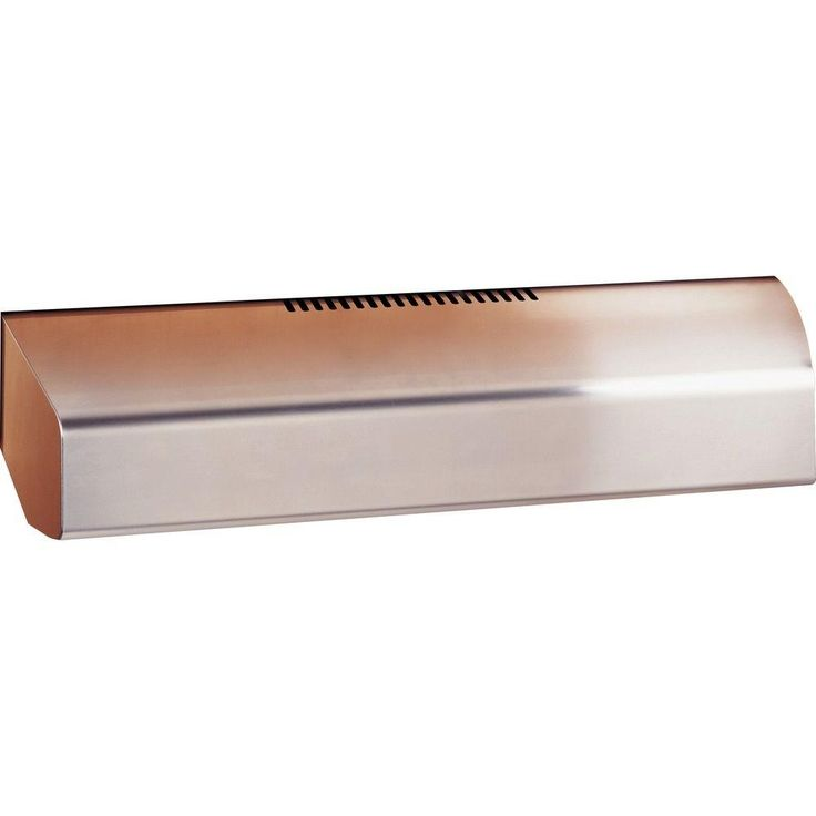 New GE Profile in Convertible Range Hood in Stainless Steel Silver