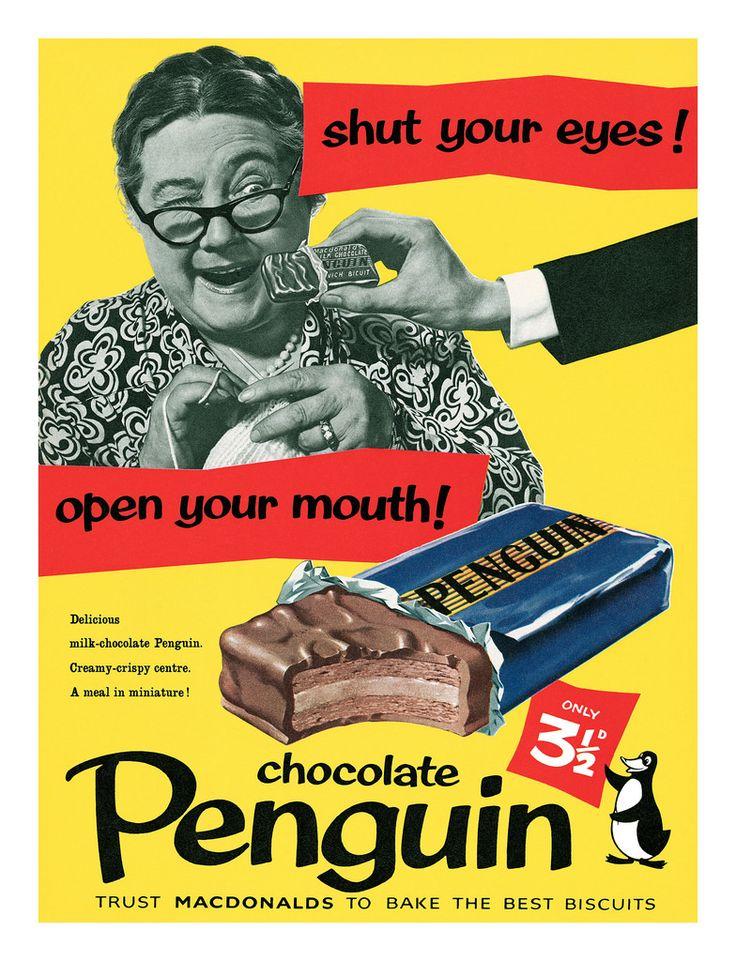 Penguin Biscuits 1956