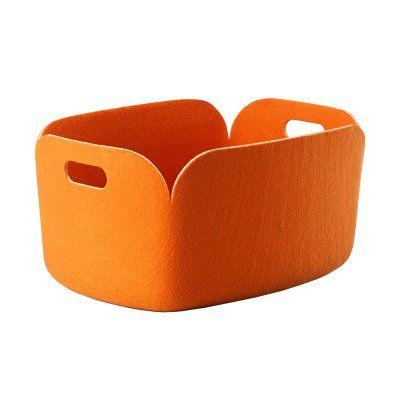 Restore Orange Förvaringskorg | Muuto | Länna Möbler | Handla online
