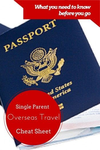 Single Parent Travel Consent Form: What to Know Before You Go - Traveling internationally with your kids without both parents? Make sure you are prepared with this cheat sheet!