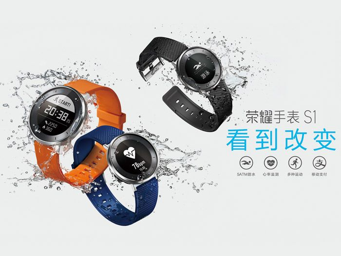 Today, Huawei unveiled their next smartwatch branded as the Honor S1. Does this device run Android Wear or Tizen or some other Real Time Operating System ? RTOS.
