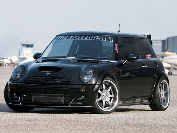 Check out this mean 2005 Mini Cooper S tuned by Fireballed! Racing featuring a fully built engine, custom Garrett GT3071R turbo system, 75 shot of nitrous and more! - Eurotuner Magazine