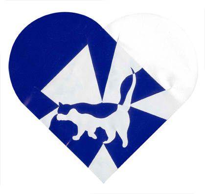 Danish Woven Heart Kat star