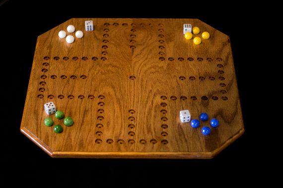 Handmade Oak Aggravation Board Game by BudsWorkshop on Etsy