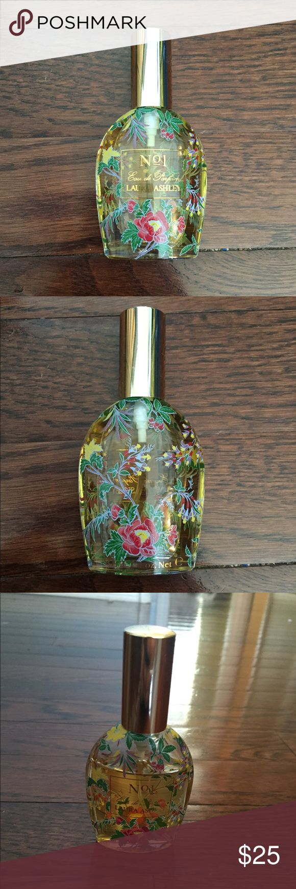 Laura Ashley Original No. 1 Perfume Laura Ashley Original No. 1 Eau de Parfum! A small amount has been used, this is the original perfume, not the newer version. Smells beautiful, has not turned, stored in air conditioned cabinet. Laura Ashley Other