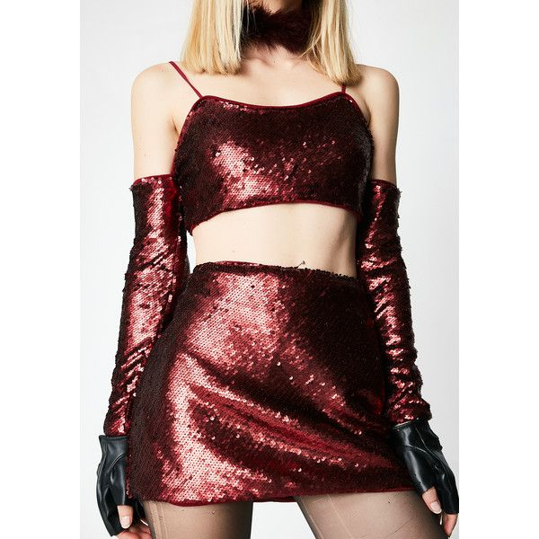Burgundy Sequin Mini Skirt ($25) ❤ liked on Polyvore featuring skirts, mini skirts, red mini skirt, sequin skirt, red sequin skirt, zip skirt and short skirts