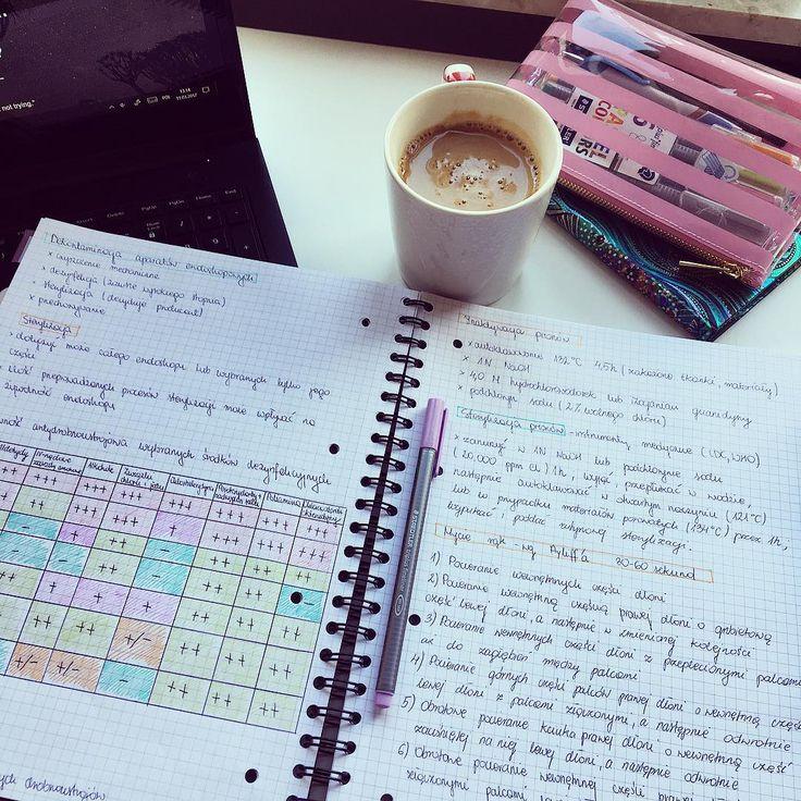 Szybka powtórka sterylizacji i czas na parazytologię🙌🏻💗🐛 #mikrobiologia #mikroby #studygram #studyspace #studymotivation #studying #study #medicine #medlife #medstudent #keepgoing #workhard #notes #coffeetime #coffee